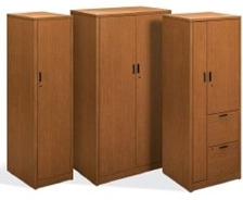 Personal Wardrobe/Storage Cabinet & HON - 10500 Series Model Number: H105297R H105293 H105299 ...